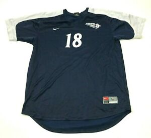 Nike Tempe Buffaloes Soccer Jersey Size Large L Blue Dry Fit Shirt Short Sleeve $18.77