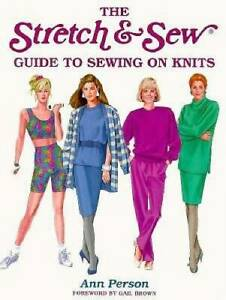 The Stretch amp; Sew Guide to Sewing on Knits Creative Machine Arts Series GOOD $4.20
