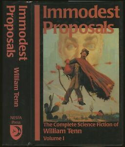 James A Mann Immodest Proposals The Complete Science Fiction of William Signed $35.00