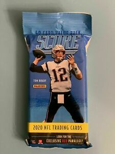 2020 SCORE Football 40 Card Fat Pack JUSTIN HERBERT? ROOKIE Tua? UNOPENED SEALED $14.95