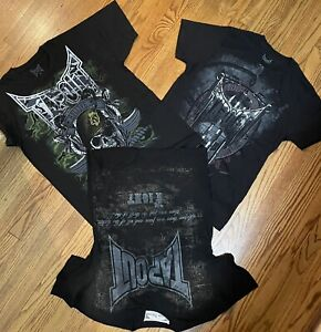 Mens New Vintage Small Bundle TAPOUT Tee Shirt