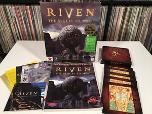 Riven: The Sequel to Myst Cyan PC MAC Big Box Game CD ROM w. Strategy Guide