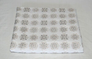 Indian New Sewing Cotton Fabric Hand Block Print Running Loose Floral 3 Yard $14.99