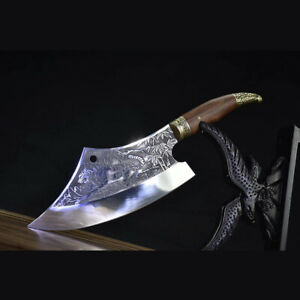 16.5quot; 7Cr17Mov Blade Custom Made Japanese Knife Professional Kitchen Chef Knives $99.49