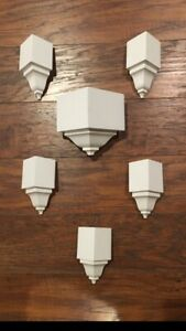 "Crown Molding Corners inside outside 6 piece 2 5 8"" Set $39.50"