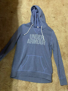WOMENS PURPLE UNDER ARMOUR HOODIE SWEATSHIRT SIZE Medium $11.10