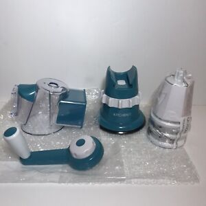 Kitchen HQ Speed Grater and Slicer with Suction Base II Color Teal $19.99