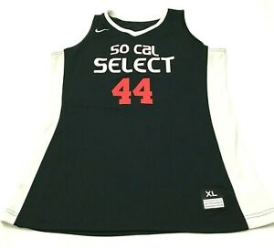 Nike So Cal Jersey Tank Top Size Extra Large XL Black Dry Fit Shirt Sleeveless $23.02