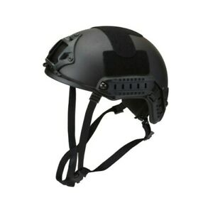 U.S ARMY UHMW PE BALLISTIC HELMET BULLET PROOF LVL IIIA BLACK MEDIUM to LARGE  $249.99