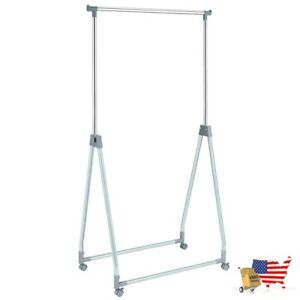Closet Organizers Extendable Foldable Heavy Duty Clothing Rack with Hanging Rod $63.97