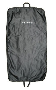 AUTHENTIC AKRIS PORTABLE COVER TRAVEL BLACK SUIT DRESS COAT LONG GARMENT BAG