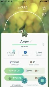 Pokemon Go Rare Spawn Axew Safe Cheap And Fast