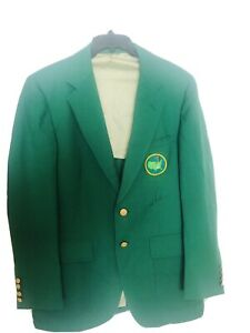 ARNOLD PALMER Signed Autographed Replica Masters Green Jacket BAS BECKETT LETTER $1750.00