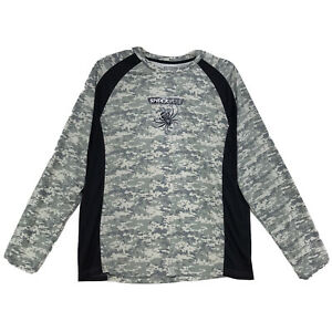 Spiderwire Digital Camo Long Sleeve Dry Fit Shirt Mens XL 46 48 FISHING LS Tee $16.17