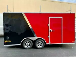Premium Enclosed Trailer 8.5#x27;x16#x27;