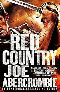 Red Country Hardcover Joe Abercrombie