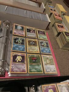 50 Lot PLAYED Original Vintage Rare Pokemon Cards Holo 1st Edition Shadowless $27.99