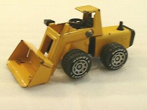 Vintage BUDDY L ARTICULATED FRONT END LOADER METAL TOY 5� Yellow Pressed Steel $15.24