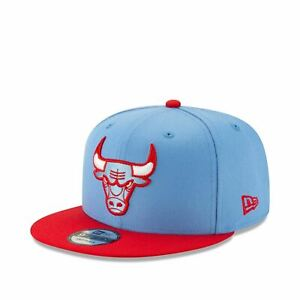 12286157 Mens New Era Chicago Bulls Blue Red City Series 950 Snapback