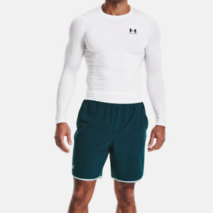 Under Armour Mens UA HeatGear Armour Compression Long Sleeve.White.1361524 100 $24.95