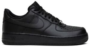 NIKE AIR FORCE 1 07 TRIPLE BLACK 315122 001 Mens sizes 8 14 *BRAND NEW IN BOX $100.00