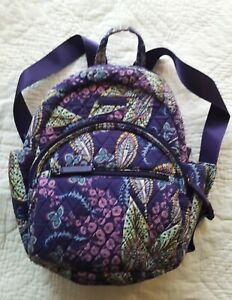 Vera Bradley Compact Essentials Purple Backpack $18.00