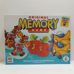 Original Memory Game Card Game By Milton Bradley Hasbro 2005 COMPLETE Ages 3 6 $15.97