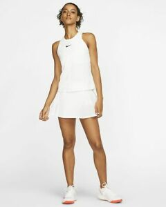 Nike Women's Court Dry Tank Slim Fit AT8983 100 $34.97