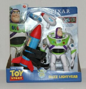 Disney Pixar Toy Story Buzz Lightyear with Rocket Action Figure $19.95