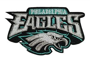 Philadelphia Eagles Super Bowl NFL Football Embroidered Iron on Patch 4.5quot; x 2.5