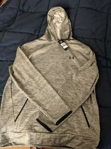 MENS UNDER ARMOUR COLD GEAR HOODIE SWEATSHIRT SIZE XL GRAY BRAND NEW $35.00