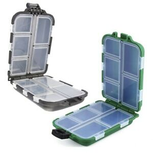 Case Fishing Storage Box Tackle Hook Bait Waterproof Container Practical