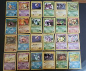 🥇1ST EDITION POKEMON CARDS🥇 INDIVIDUAL CARDS. WOTC NM CONDITION $10.00