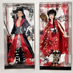 Barbie and Ken SET OF 2 dolls of the world japan 2010 Pink Label NIB Gorgeous $295.00