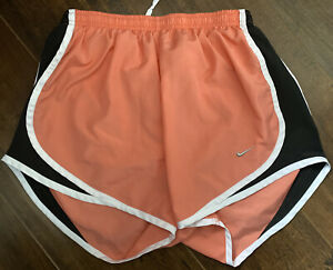 Womens Nike Running Shorts Size Small With Built In Underwear Snag On Back $9.00