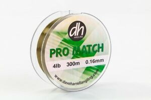 Dave Harrell Pro Match Line 300m All Sizes Available Coarse Match Fishing