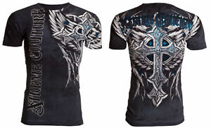 XTREME COUTURE by AFFLICTION PANTHER Men#x27;s T Shirt $23.99