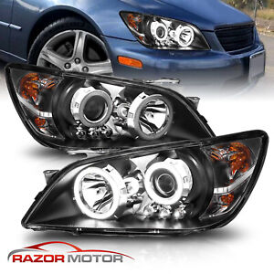 LED Halo 2001 2002 2003 2004 2005 For Lexus IS300 Projector LED Headlights $206.01