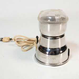 Vintage Moulinex Coffee Spice Mill Grinder 200W Made in France MCM Beautiful