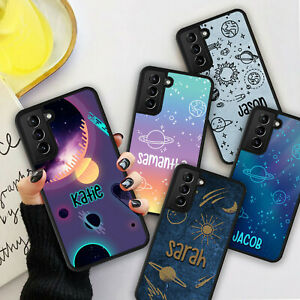 Personalised Galaxy Space Star Phone Hard Case Cover For Samsung S21 Plus Ultra GBP 5.98