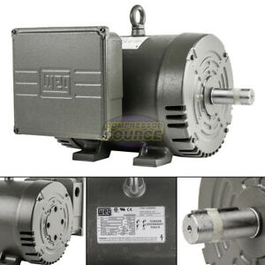 7.5 HP Replacement Motor 1 Phase 3450 RPM 184T For Ingersoll Rand Compressor $489.95