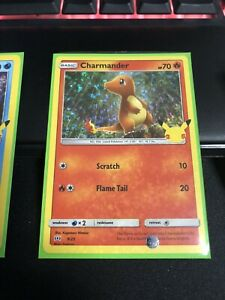 2021 Pokemon TCG McDonalds Promo Card 25th Anniversary Holo Foil Charmander 9 25 $15.98