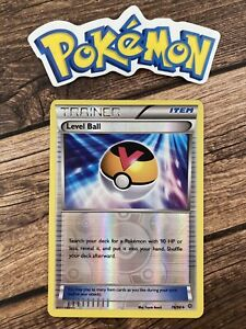 Pokemon 2015 XY Ancient Origins Level Ball Holo Nintendo card