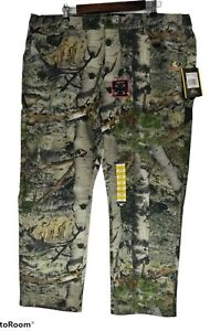 NEW NWT Mossy Oak Men Mountain Country Flex Camo Hunting Pants 40 42 Extra Large