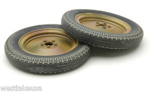WWII Nebelwerfer Pair of Wheel 1 6th Scale for 12 Action Figure by DID $24.99