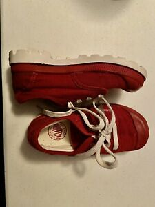 Boys girls Shoes Red Palladium size 11.5 sneakers $17.99