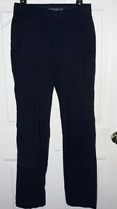 Under Armour Golf Pants Mens 30 32 Loose Stretch Navy Blue $23.50
