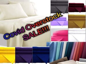 Persian Collection MAX 1900 Sheet set Fitted Flat 16 Deep Wrinkle Free You Pick $18.98