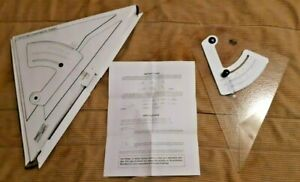 ProArt Adjustable 12quot; Triangle for Drafting T Square Use Perspective Drawing $25.00