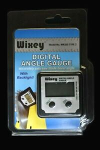 Wixey WR300 Type 2 Digital Angle Gauge with Backlight $23.99
